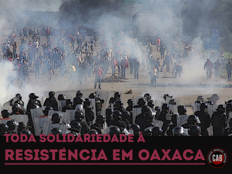 solidariedade a resistencia em oaxaca